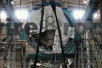 Heavy Lift Milestone at SemCalaca Power Plant