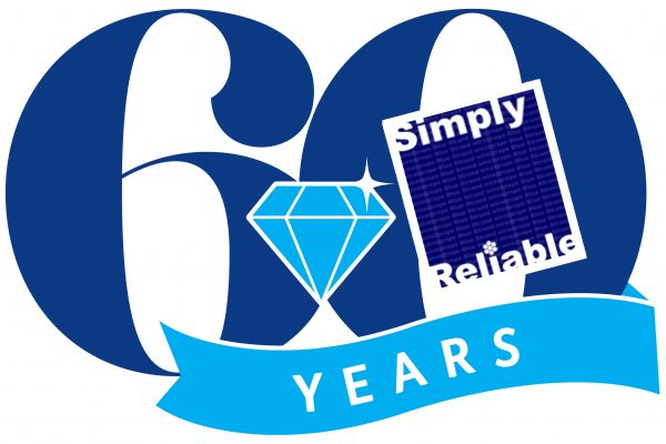 Celebrating 60 Years of Simply Reliable Products and Customer Support