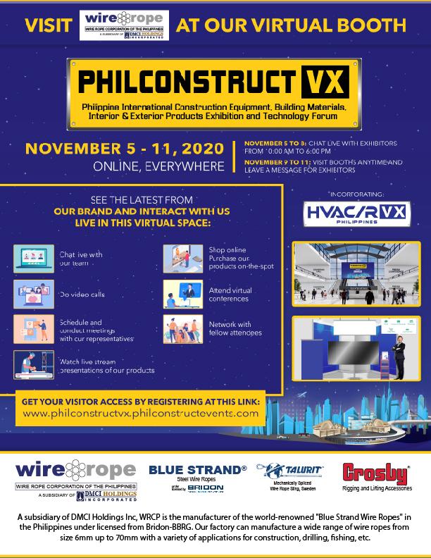 Philconstruct Manila 2020 Invite